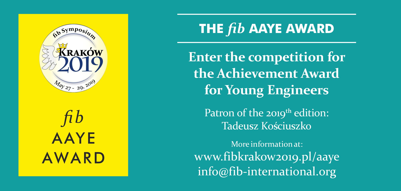 The <i>fib</i> AAYE 2019 Award