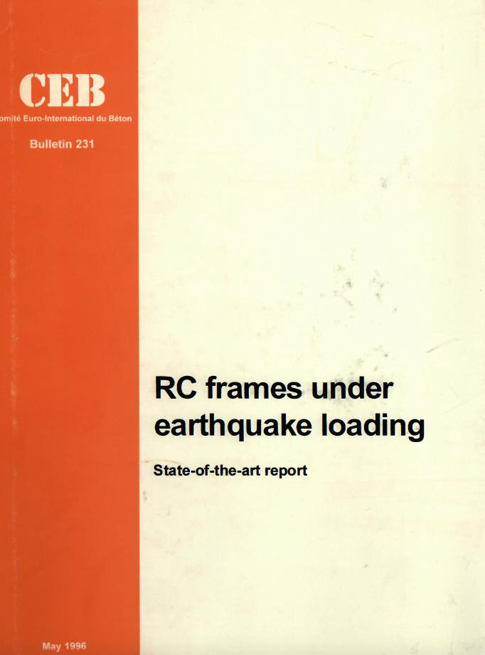 CEB Bulletins : RC Frames under Earthquake Loading (PDF)