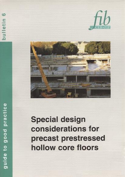 Special design considerations for precast prestress hollow core floors (PDF)